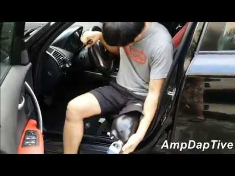 driving manual car with prosthetic arm