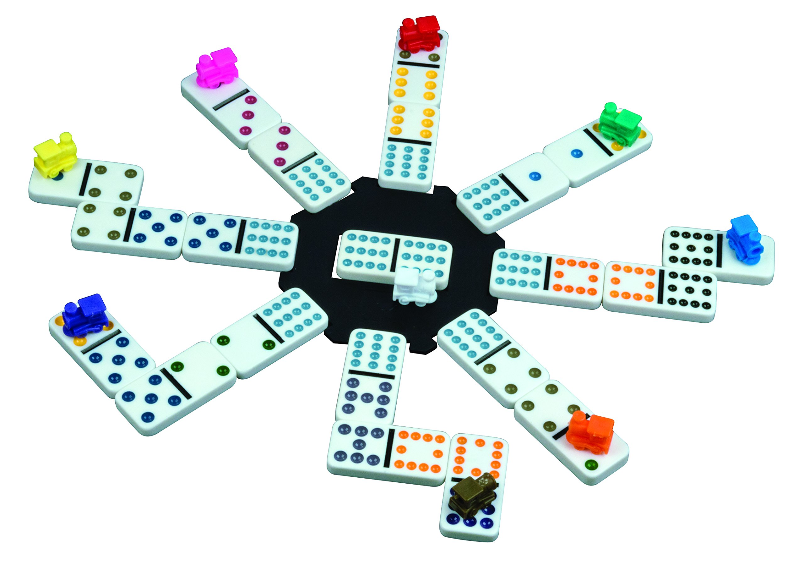 instructions for train dominoes game