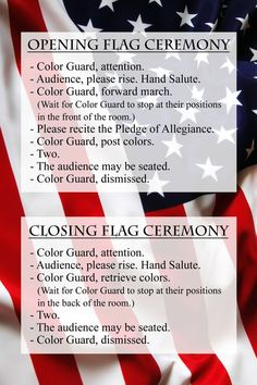 cub scout flag ceremony instructions