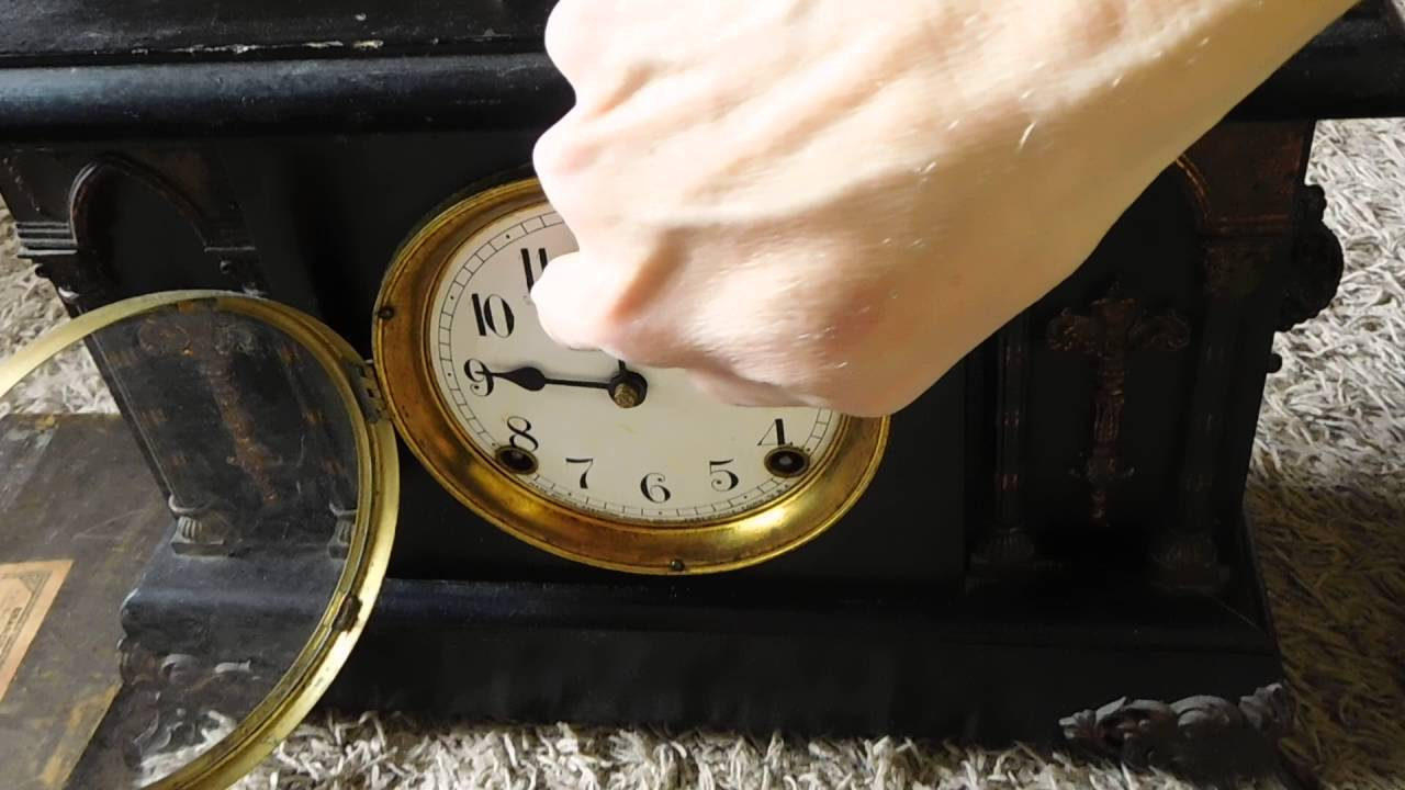 sessions mantle clock instructions