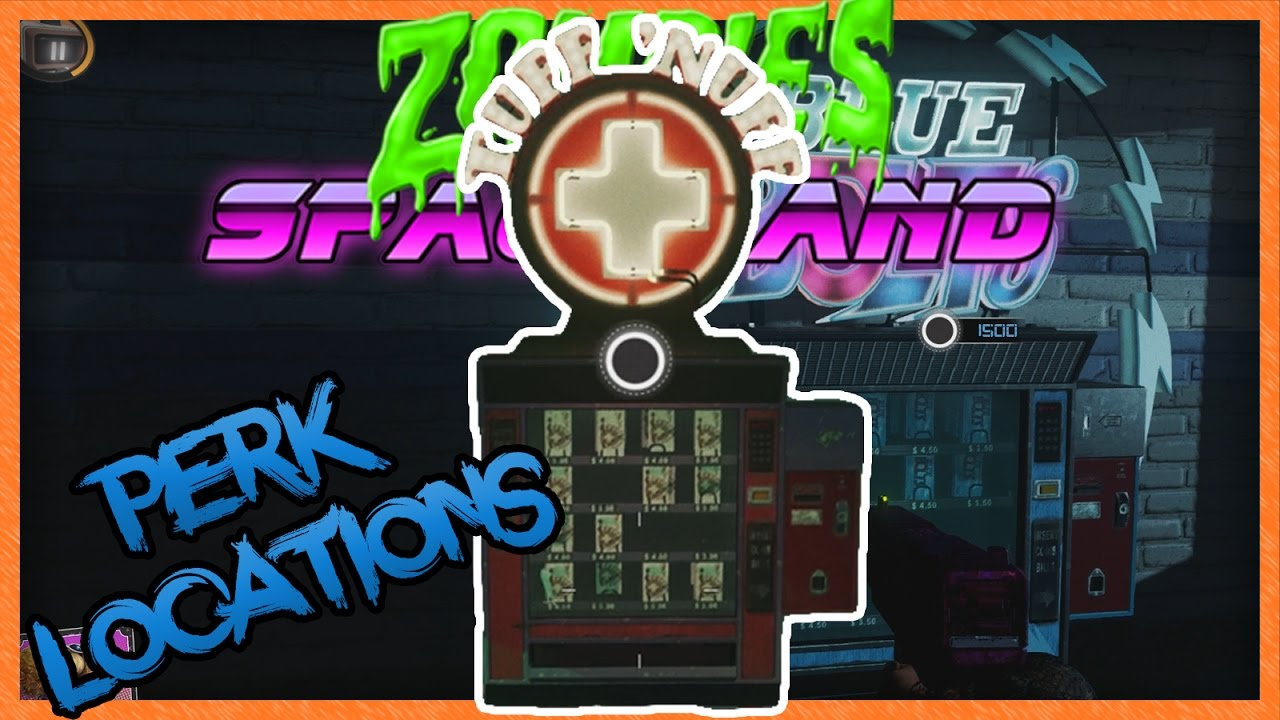 Zombies in spaceland how to get all perks