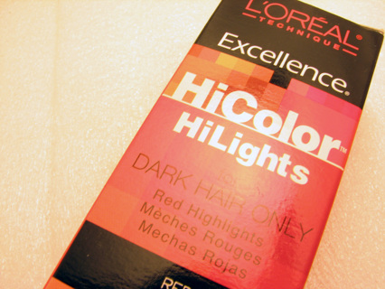 l oreal excellence hicolor instructions