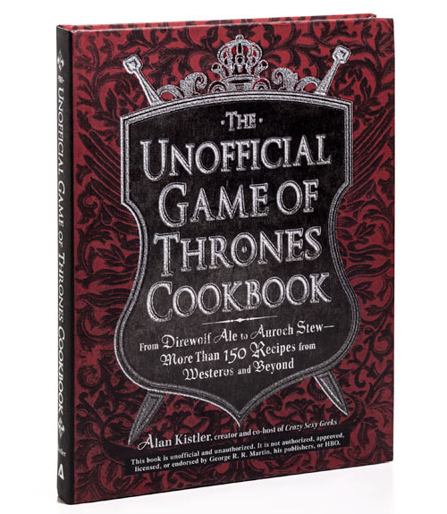 Game of thrones cookbook pdf