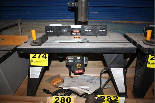ryobi plunge router instructions