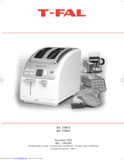 T fal toaster oven manual