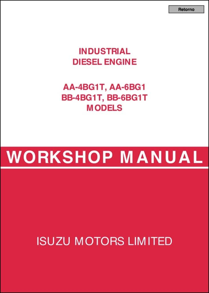isuzu marine diesel engine manual