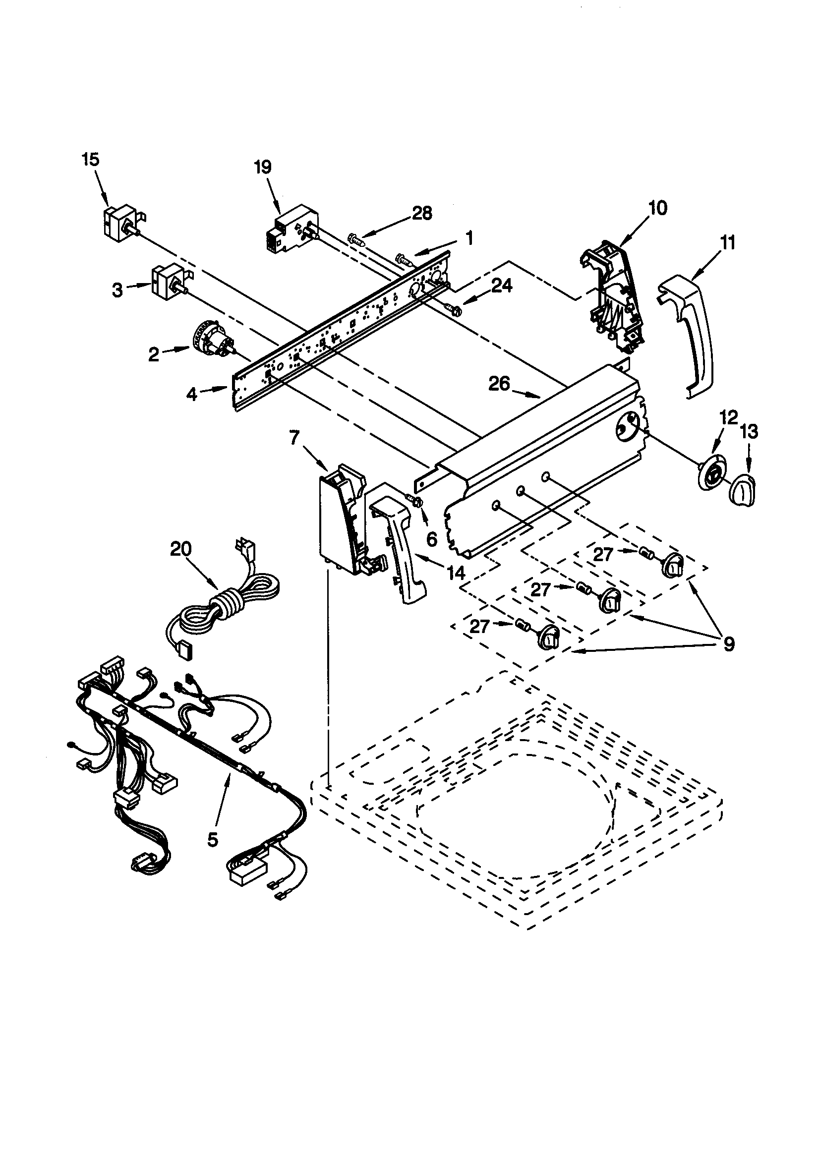 kenmore washer 592-49057 service manual