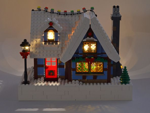 lego christmas village instructions