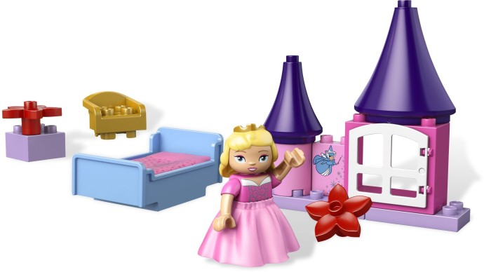 lego duplo sleeping beauty room instructions