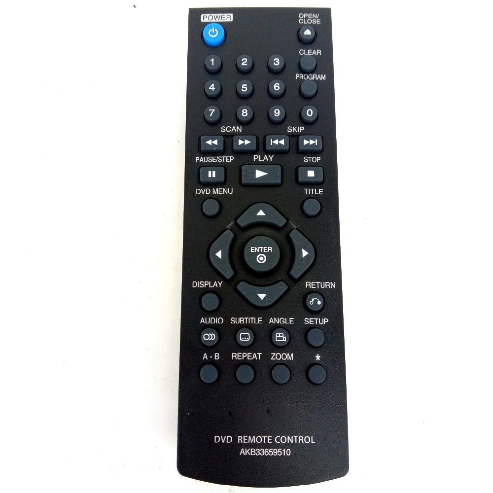 Lg dvd remote control manual