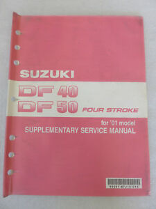 suzuki df 50 service manual